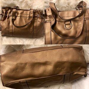 Mondani Bags - 💜3/$15 <Mondani> Gold Shoulder Bag